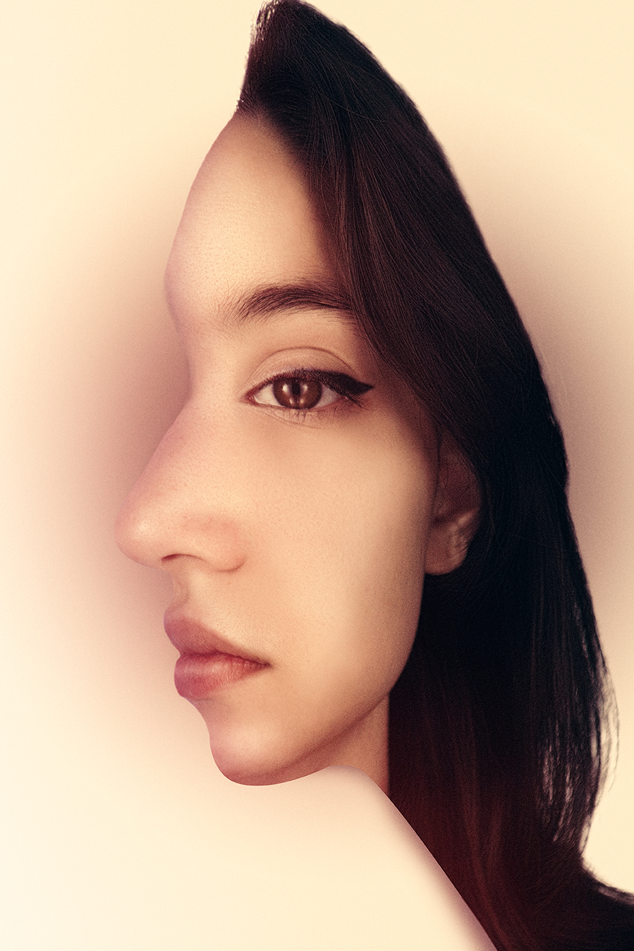 Optical-Illusion-conceptual-portrait